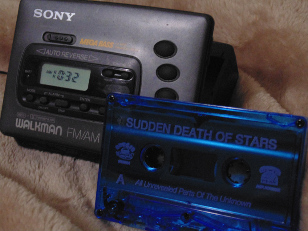 Wot is on my Sony Walkman - Sudden Death Of Stars - All Unrevealed Parts Of The Unknown