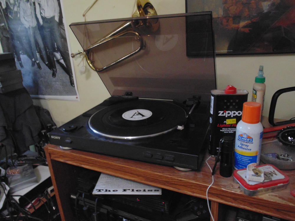 Wot is on my Sony Turntable - The Fleiss - Fat Noble Kings Eat Buffalo Wings