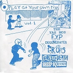 Various Artists, Play At Your Own Risk Vol. 1, 6 Band Split Compilation,  7