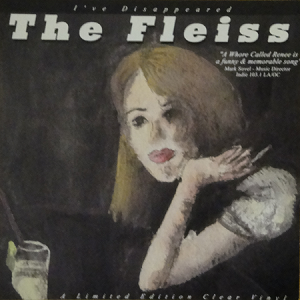 "Fleiss, The - I've Disappeared, 7"" 45rpm, Clear vinyl record, EP"